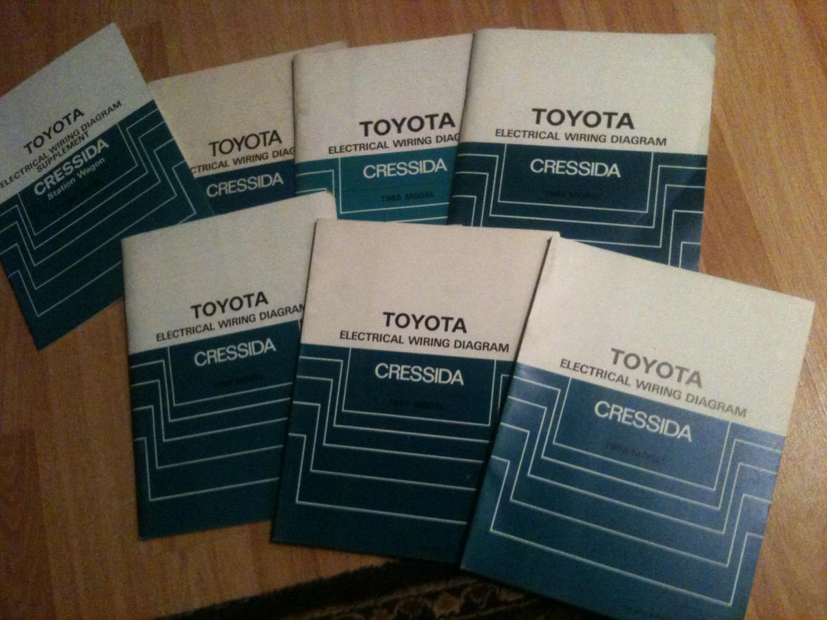 Super Easy To Find 1982 1988 Toyota Cressida Wiring Diagram Soft Attached Thumbnails