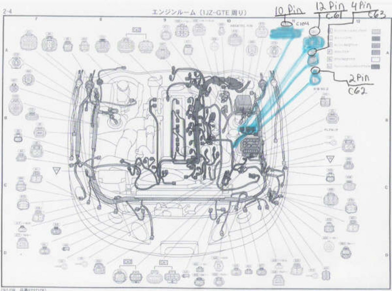Need toyota engine bay plug part numberspinouts gx100 shitbox x90 attached thumbnails asfbconference2016 Choice Image